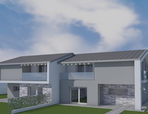 Nuova costruzione – Bifamiliare nel comune di Loria – (Tv)